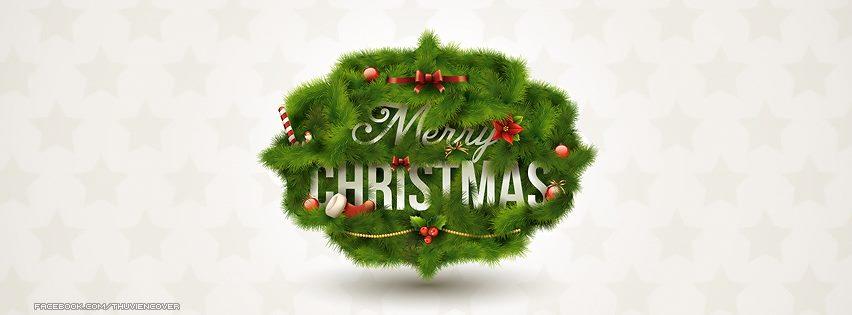 Ảnh bìa Noel đẹp cho Facebook