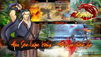 game kiếm hiệp 3d mobile online