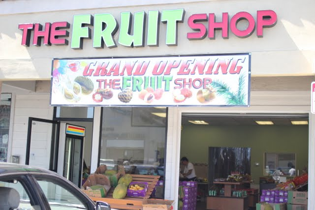 The Fruit Shop