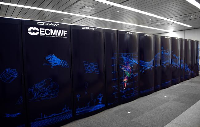 El ECMWF incluye mejoras significativas en su modelo IFS