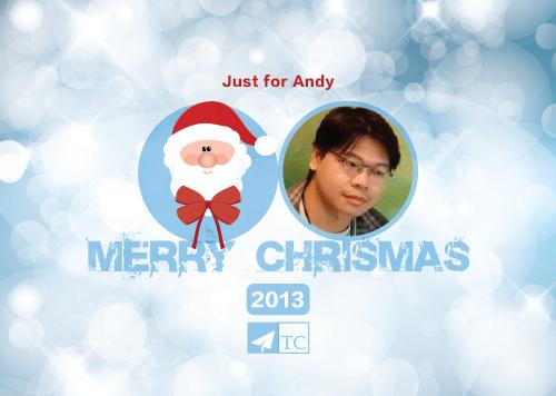 [電子賀卡] 聖誕節卡片免費客製化