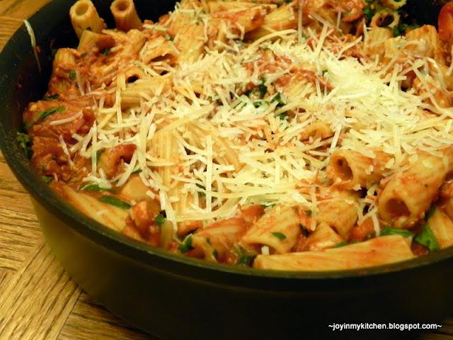 Finding Joy in My Kitchen: Skillet Chicken Rigatoni