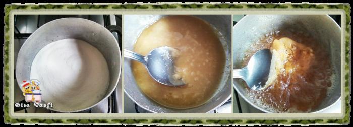 Pudim de coco na cuscuzeira 6