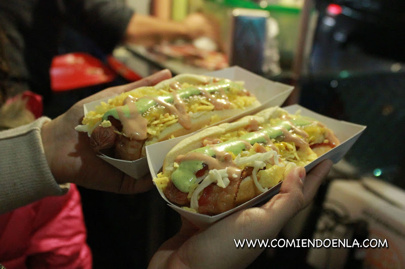 Colombian Hot Dog
