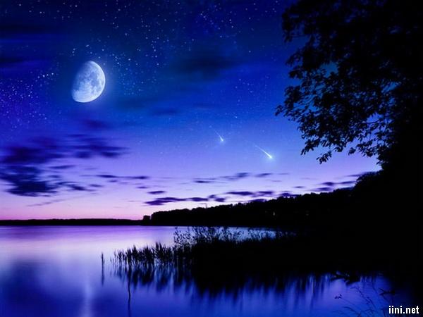thơ 7 chữ đêm trăng buồn