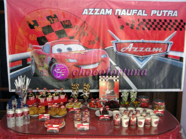 Dessert Table Azzam Cars