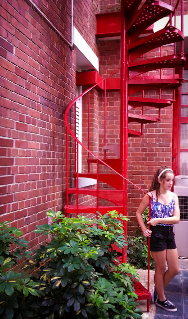 ServicefromHeart travelxp Singapore Central Fire Station tower spiral staircase