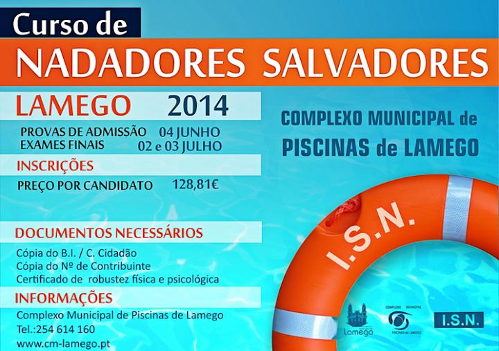 Lamego acolhe Curso de Nadadores Salvadores
