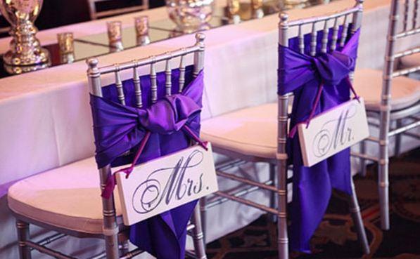 Originales ideas para decorar una boda.