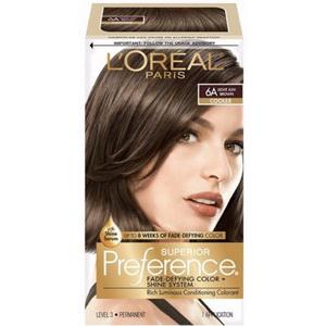 Thuốc nhuộm tóc Loreal Paris 6A superior preference hàng Mỹ xách tay