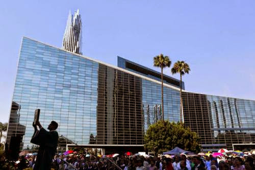Farewell Service At Orange County Crystal Cathedral