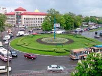 Соборная площадь Белая Церковь