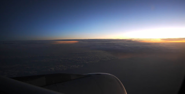 Sunrise somewhere over India