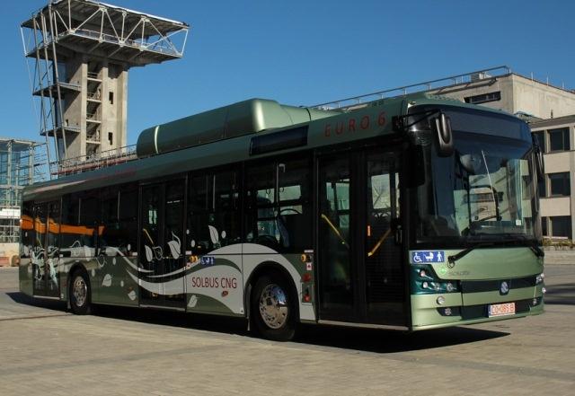 TransExpo 2012. Premiera Solbusa SM 12 CNG