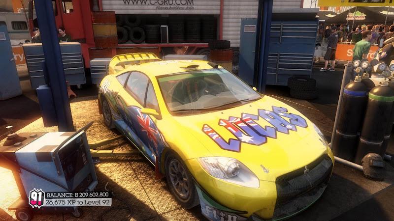 รายการรถกลุ่ม Rally ใน DiRT2 Ecl-05