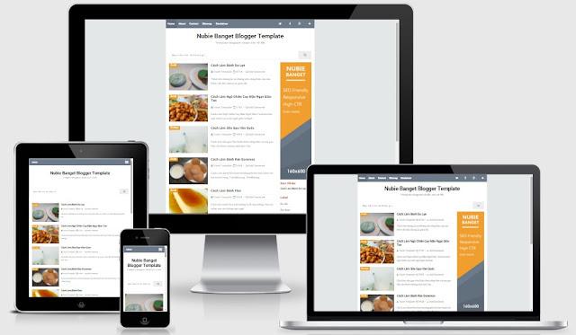 Download miễn phí mẫu template blogspot chuẩn seo