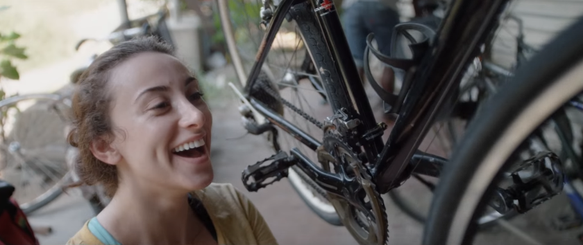 HSBC UAE One Step Endless Possibilities Ad Follows a young woman as she ambitiously cycles on a solo tour
