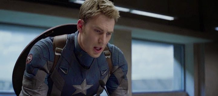 Screen Shot Of Hollywood Movie Captain America: The Winter Soldier (2014) In Hindi English Full Movie Free Download And Watch Online at Alldownloads4u.Com