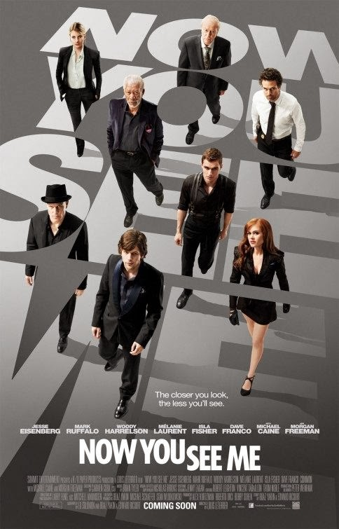 Poster Of English Movie Now You See Me (2013) Free Download Full New Hollywood Movie Watch Online At Alldownloads4u.Com