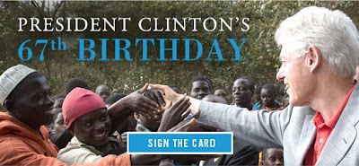 Happy Birthday Great Helmsman Bill Clinton