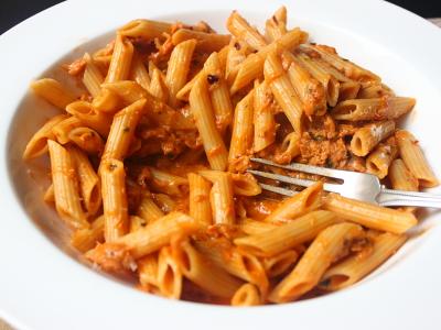recipe: tuna alfredo with penne pasta [20]