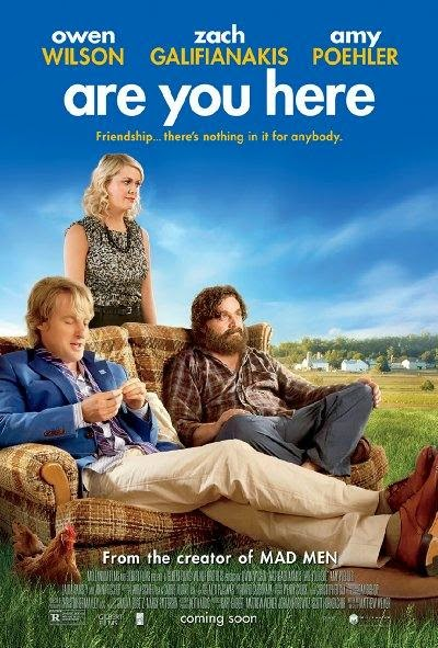 Poster Of English Movie Are You Here (2013) Free Download Full New Hollywood Movie Watch Online At Alldownloads4u.Com