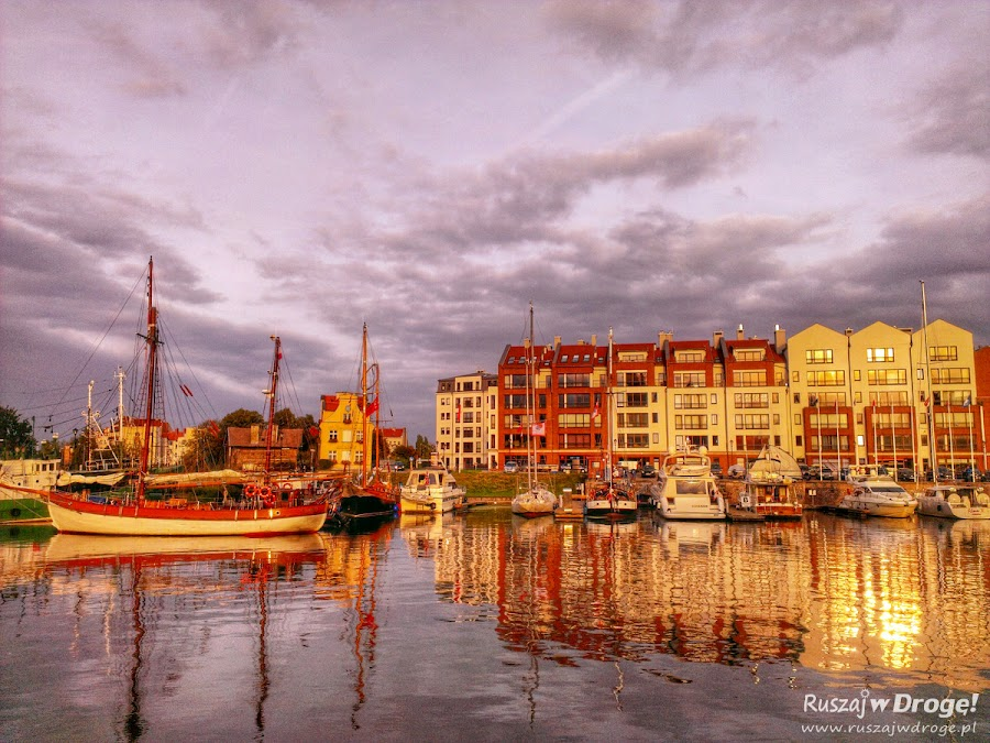 Gdańsk - nowe nabrzeża na Wyspie Spichrzów i marina