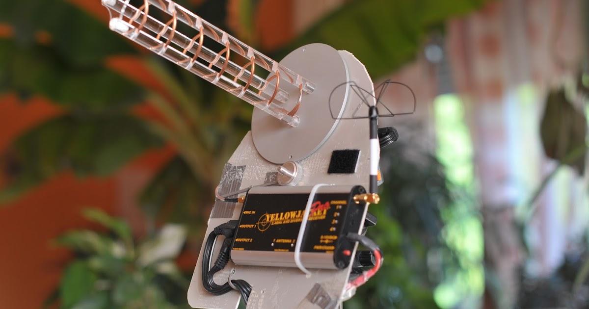 RCSchim's Hangar: Cloverleaf / Skew Planar Wheel - Antennas