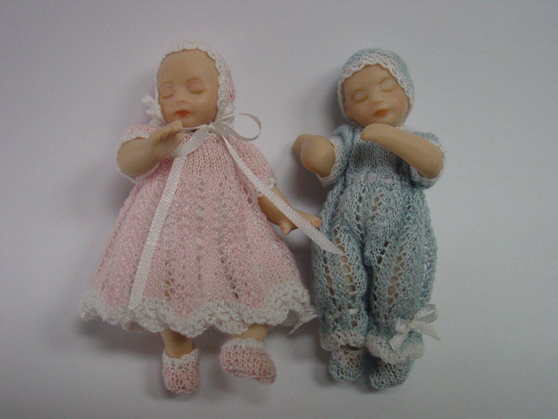 Chrystals Designs: Miniature Knitting Patterns 3