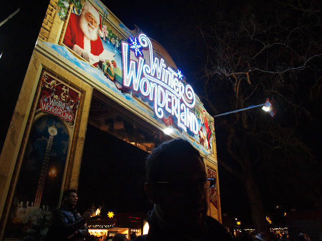 hyde park winter wonderland london