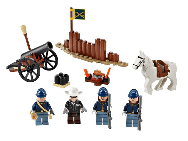 79106 レゴ ローンレンジャー 騎兵隊ビルダーセット