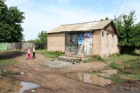 Poštanski ured, 20tak km od Rusko - Kazahstanske granice