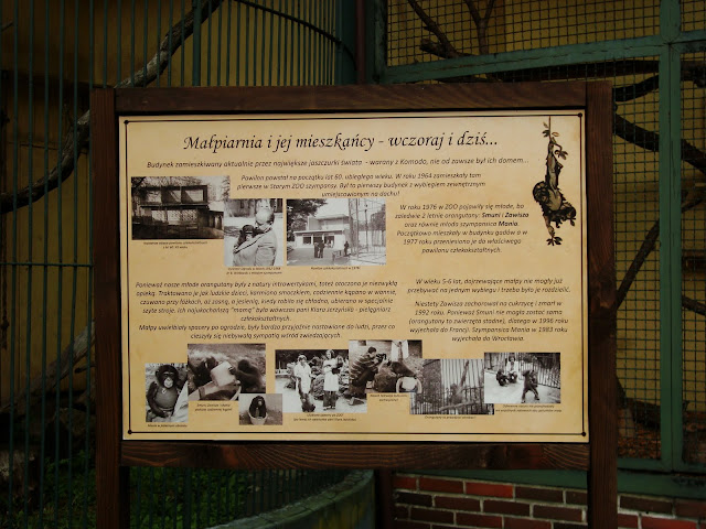 Stara małpiarnia - wczoraj i dziś