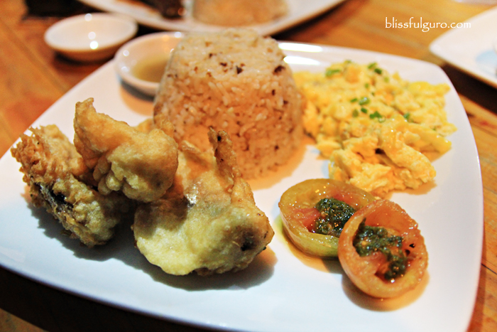 Spanish Sardines Tempura (Php60.00) at Mandaluyong's Kanto Freestyle Breakfast