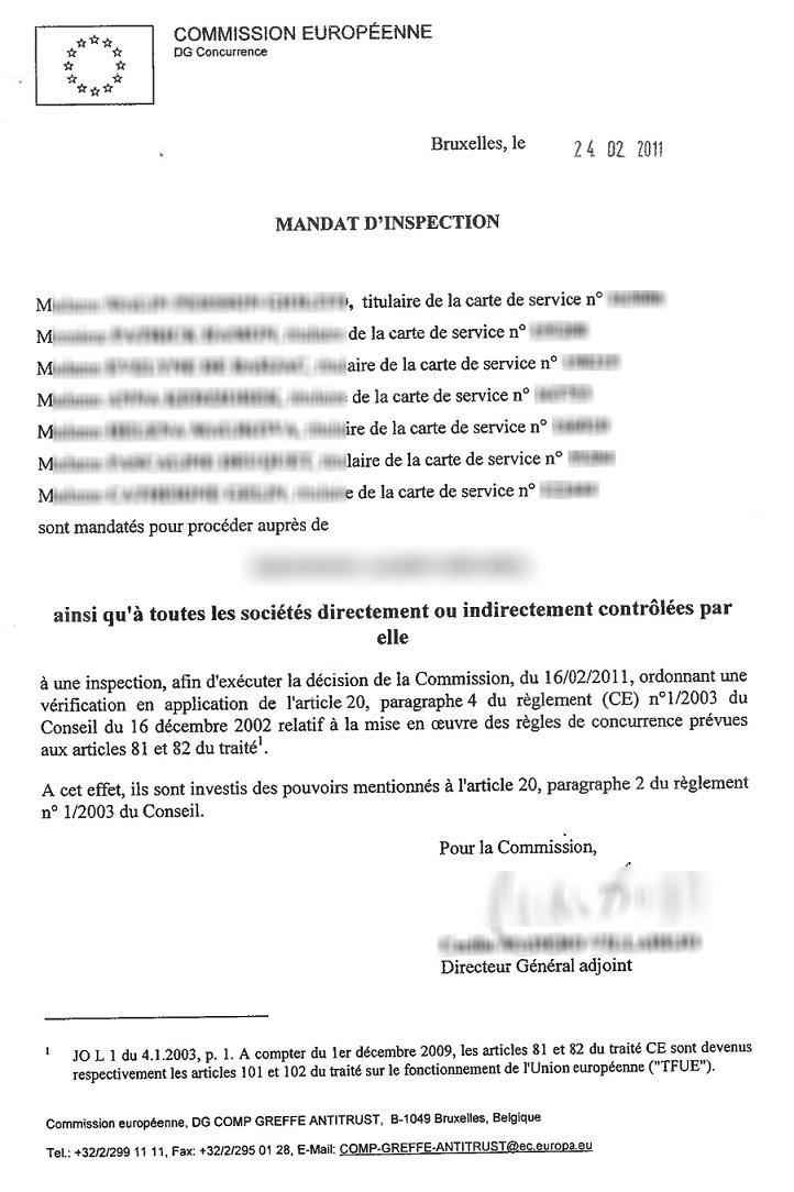 Ένταλμα έρευνας της Ευρωπαϊκής Επιτροπής στα γραφεία εκδοτικού οίκου στο Παρίσι