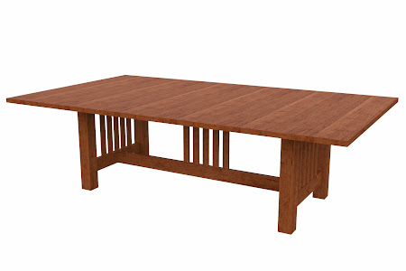 Mission Conference Table in Itasca Maple