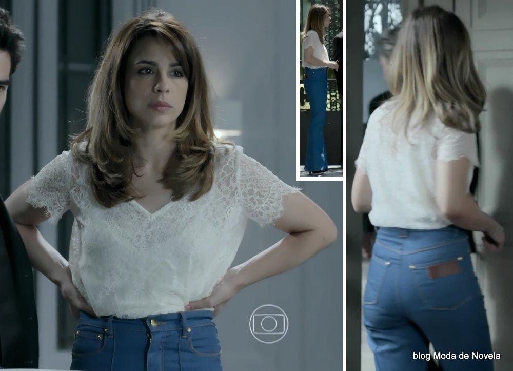 moda da novela Império - look da Danielle dia 25 de setembro