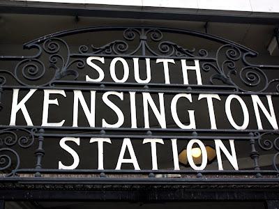 South Kensington Station Sign