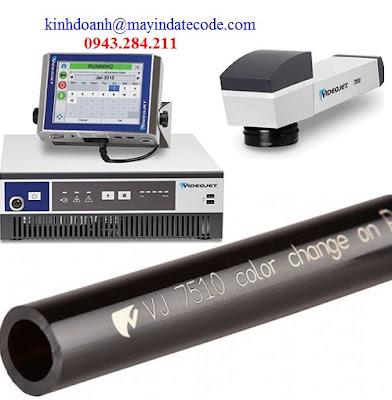 Máy in date laser Videojet 7510