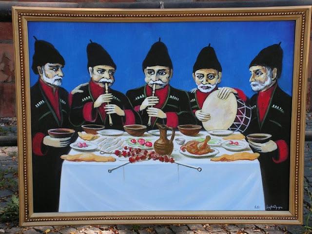 Картина на блошиному ринку. Тбілісі. Грузія