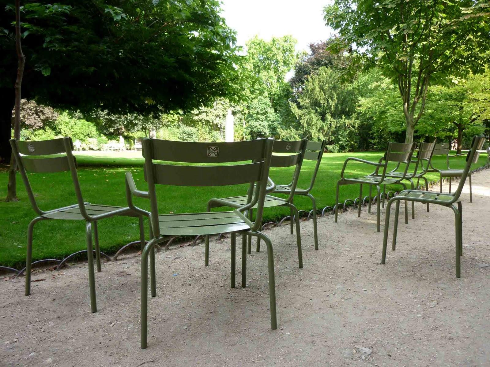 Bbonthebrink Iconic Parisian Park Chairs