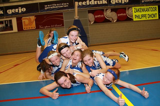 Basketmeisjes Wytewa U14 kampioen in stijl