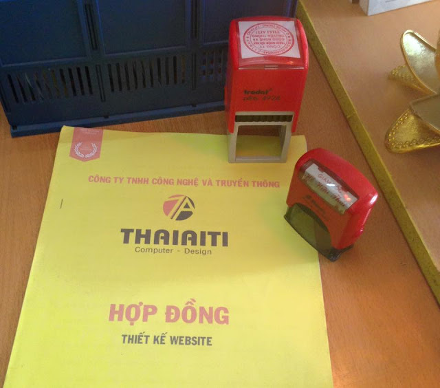ThaiAiTi ký hợp đồng thiết kế web du học Công ty Quang Minh