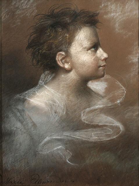 Marie Ellenrieder - Portrait of a boy.