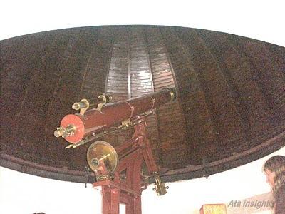 Techo del observatorio