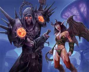 Чернокнижник в World of Warcraft