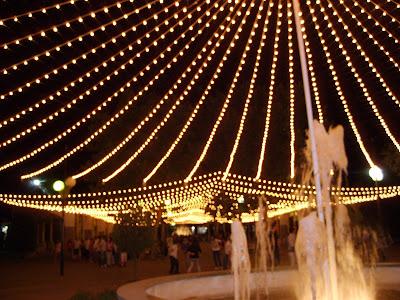Fuente del Recinto Ferial de Pozoblanco en su Feria y Fiestas . Foto: Pozoblanco News, las noticias y la actualidad de Pozoblanco (Córdoba), a 1 click. Prohibido su uso y reproducción * www.pozoblanconews.blogspot.com