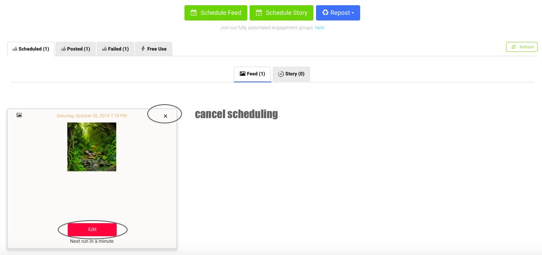 AiSchedul dashboard