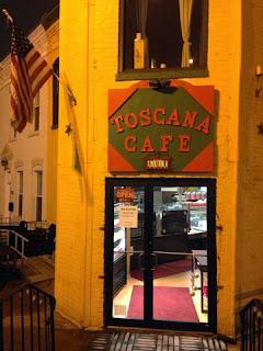Toscana Café's Entrance