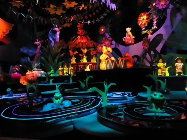 Small world at Disneyland Hongkong